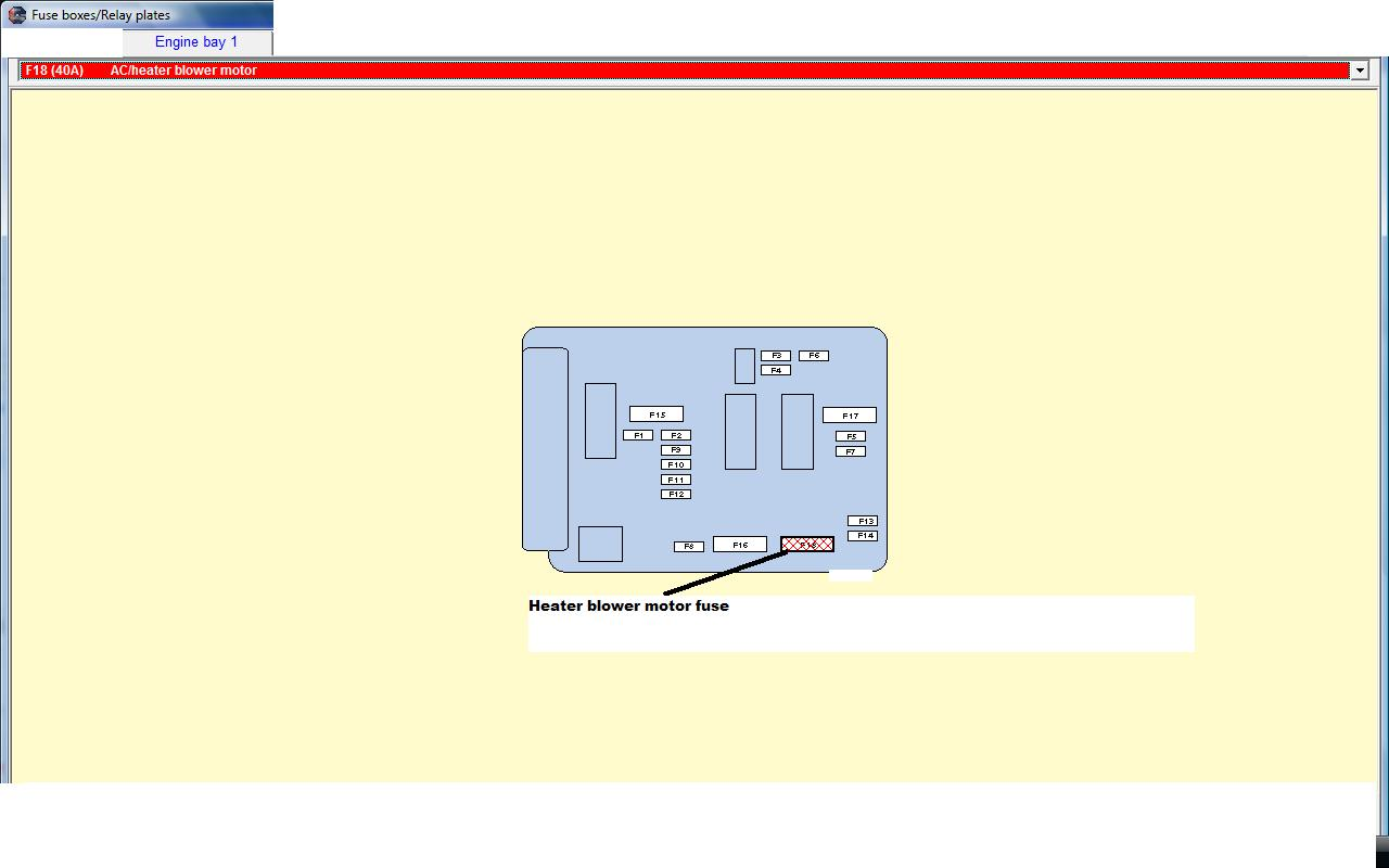 Peugeot 206 Fuse Box Heater Wiring Library Relay Central Locking Diagram For