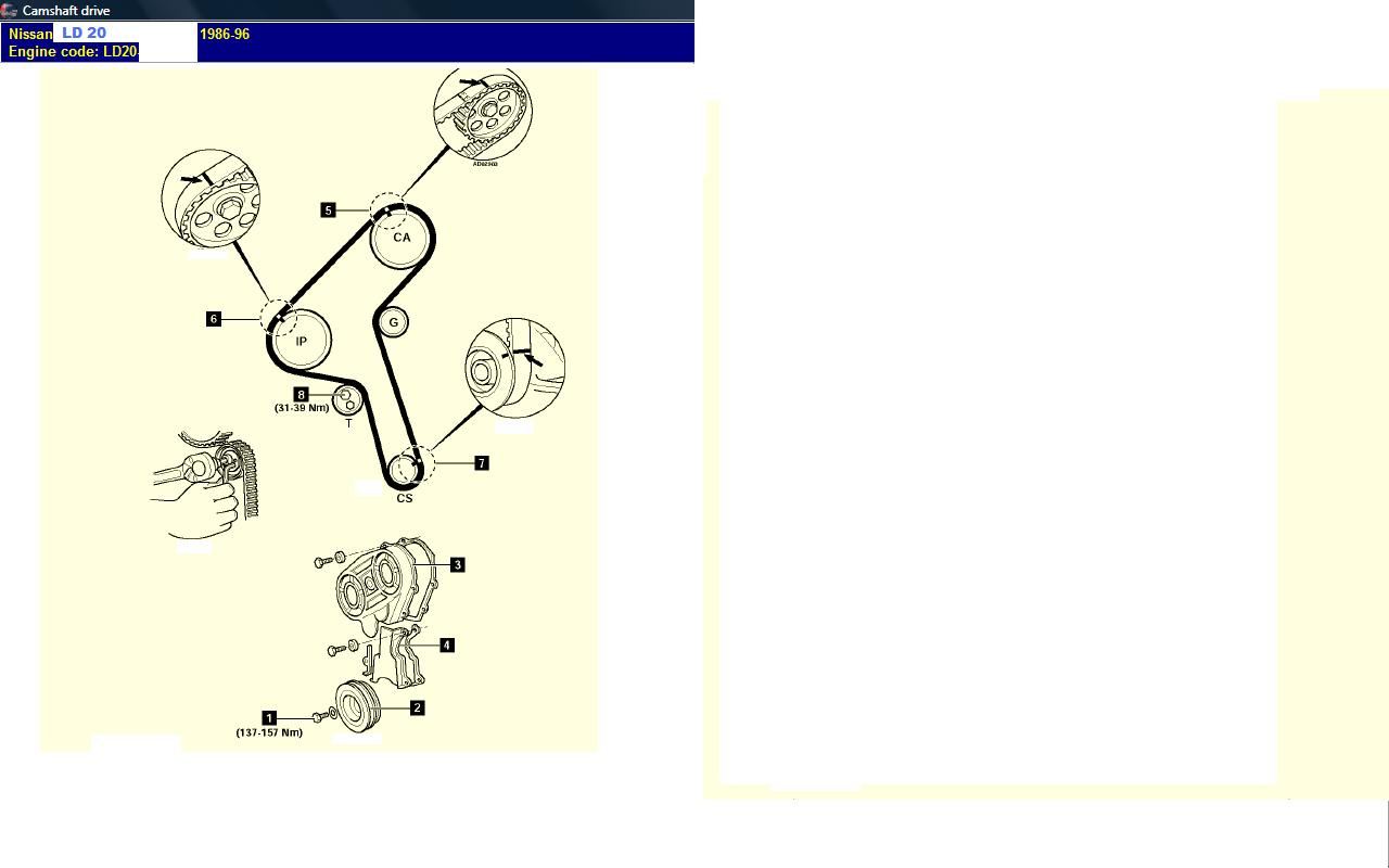 Nissan Ld20 Timing Marks
