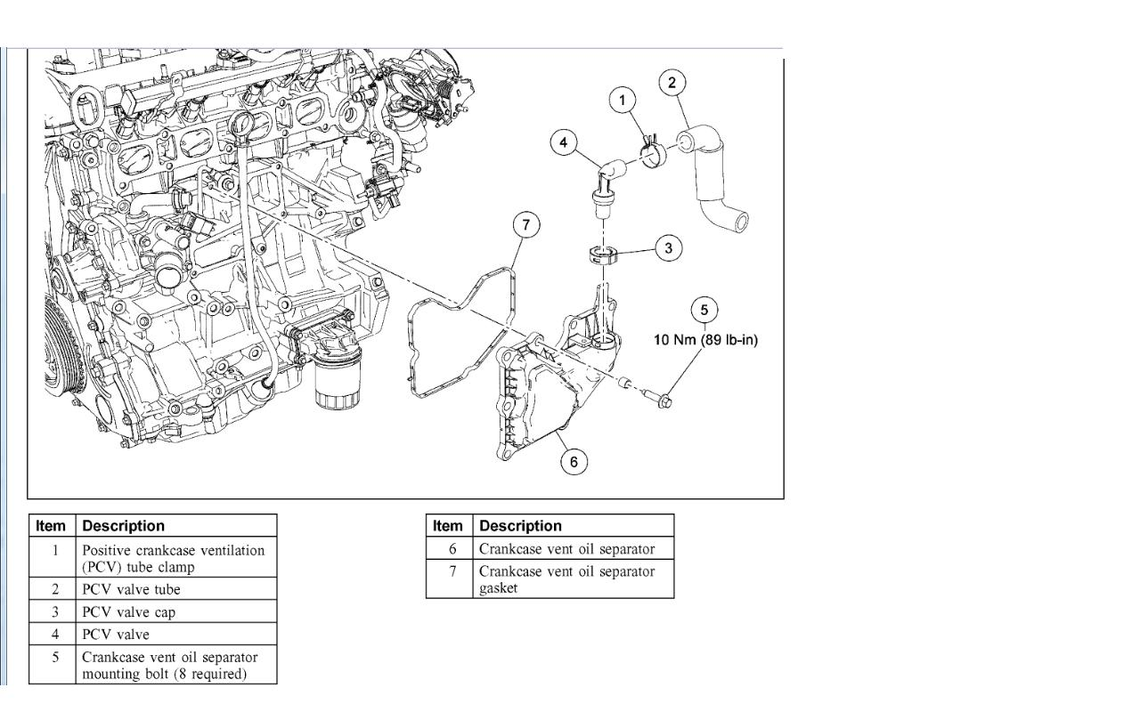 2010 ford focus pcv valve diagram  2010  free engine image