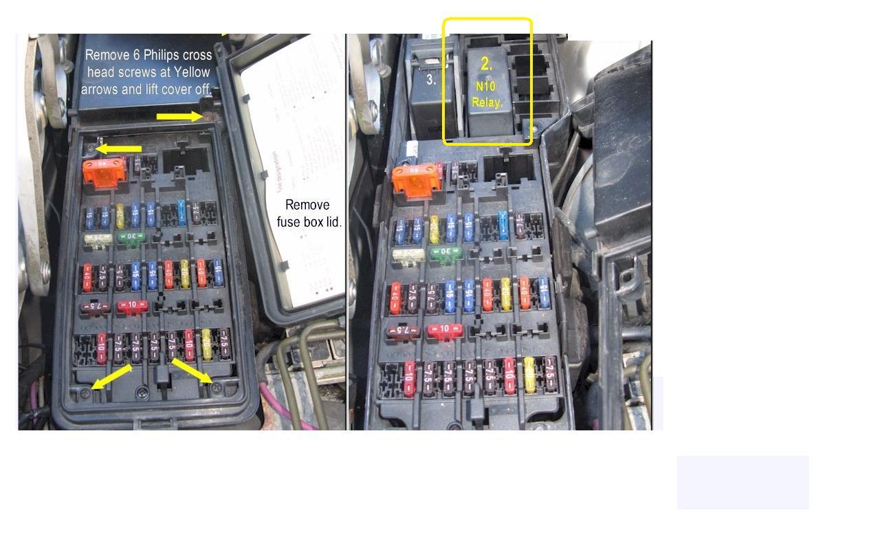 2006 mercedes c320 fuse box diagram mercedes w124 l reg 94 - indicator started to work ... #9