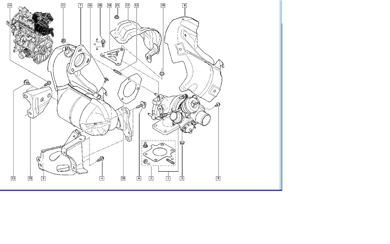 car engine exploded diagram