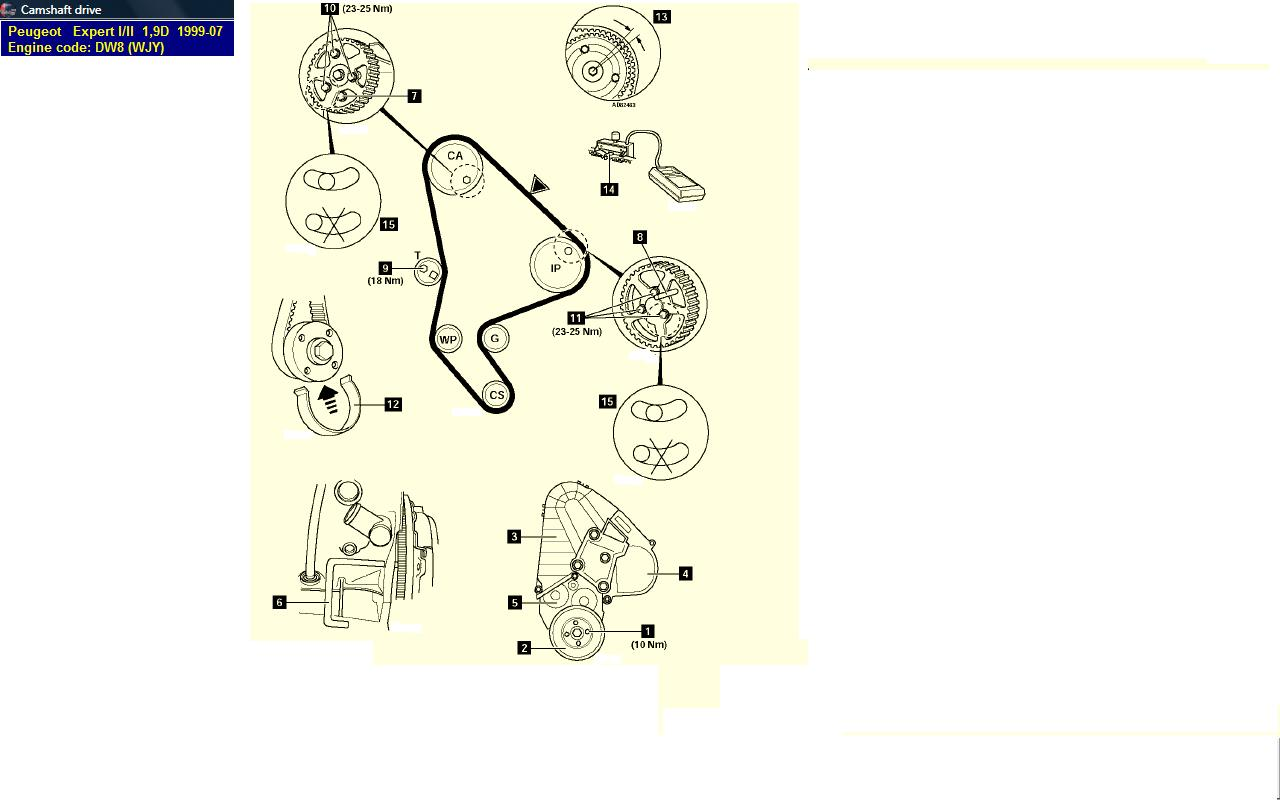 volvo camshaft locking tool instructions