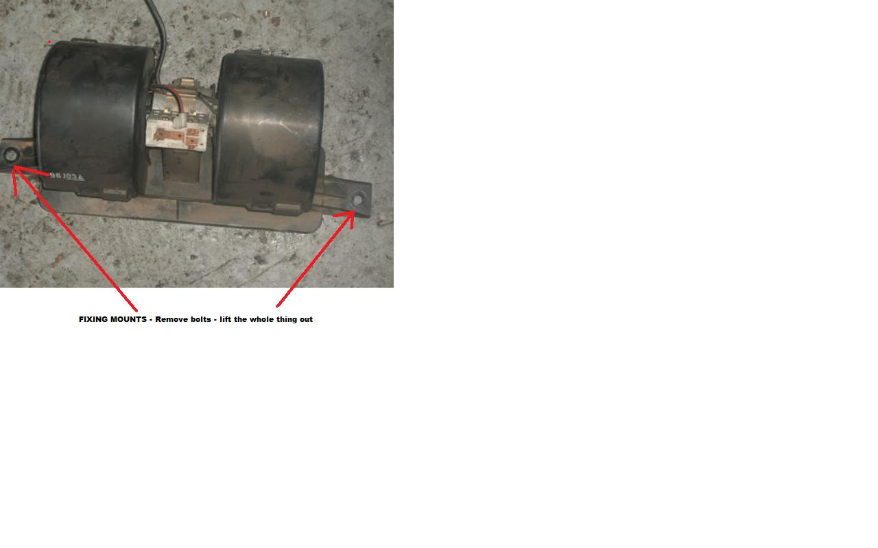 1998 ford escort blower motor not working for Heater blower motor not working