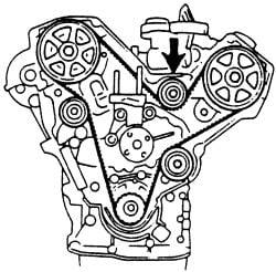 2jjn5 Diagram Cam Timing Marks 1994 626 2 5 Engine