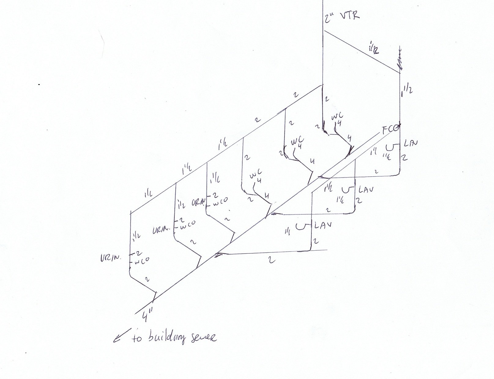 pipe schematic drawing
