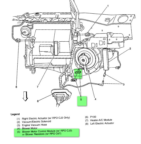 99 pontiac grand prix blower motor wiring diagram