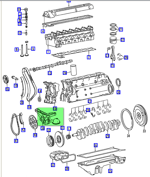 Got A Diagram Of A 350sdl  Need Info On Location Of Oil