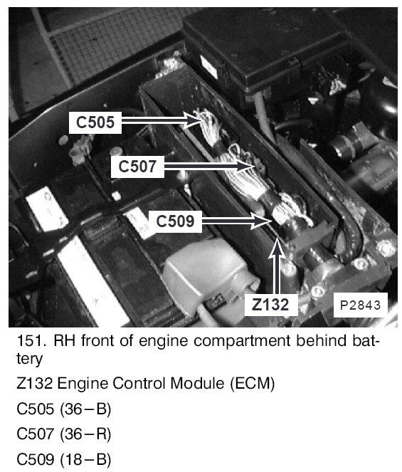 Ecm on Car Engine Control Module