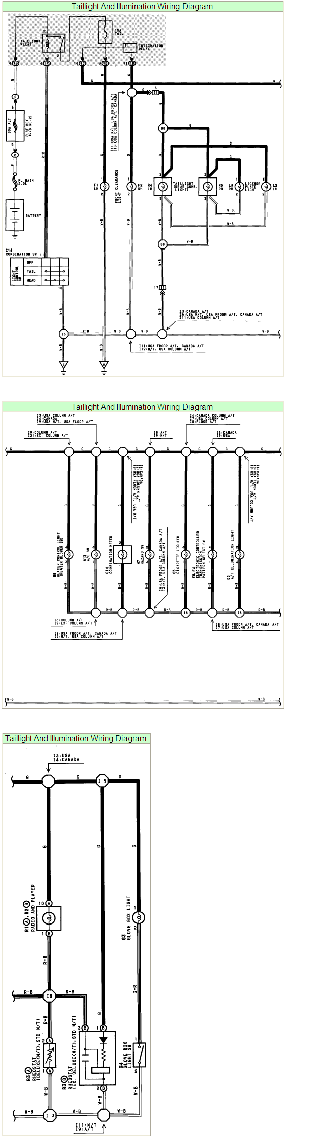 1994 Toyota Pickup Tail Lights Wiring Diagram Real 78 Purchased A Truck Previous Owner 1978