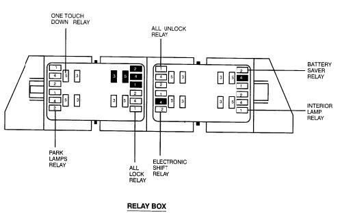 99 ranger battery saver relay location 99 free engine for 1999 buick park avenue window regulator
