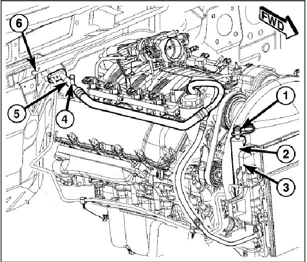 2005 Chrysler 300 Fuse Box Diagram In Trunk