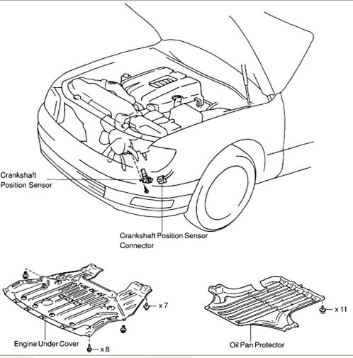 2011 Lexus Ct Camshaft: I Have A 1998 LS400 LEXUS TO CHANGE THE CRANK SENSOR AN