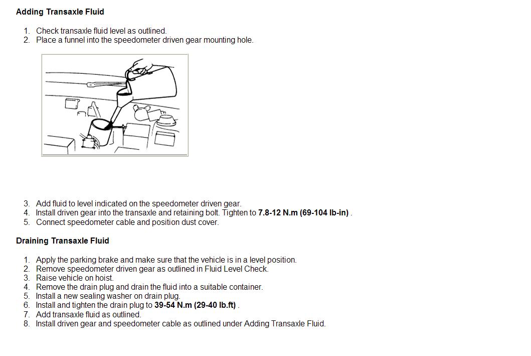 what manual transmission fluid do i need