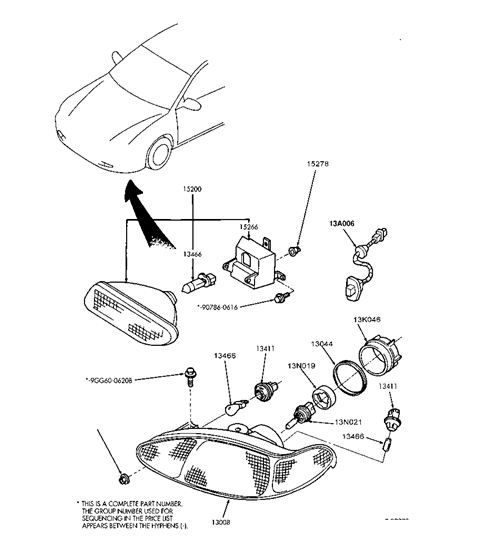 i need a part for my 1997 mercury tracer and i don u0026 39 t know