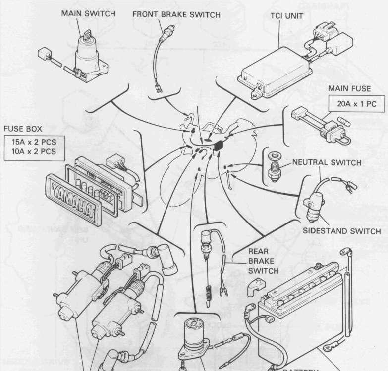 v star 1300 headlight relay switch location  v  get free
