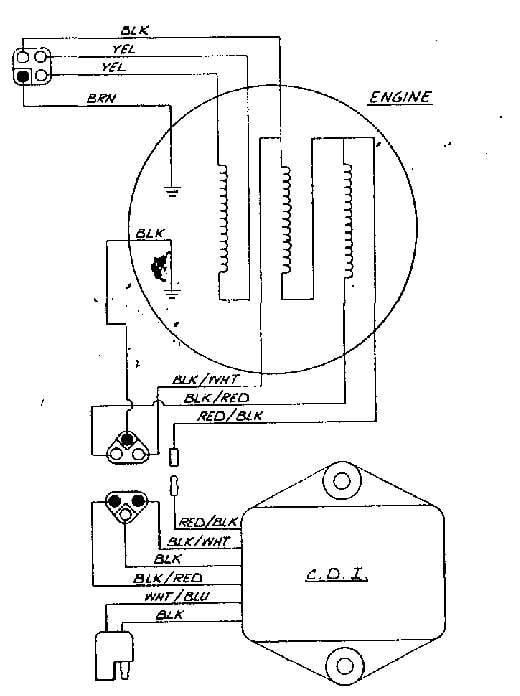 1979 Arctic Cat Eltigre 6000  500cc Lc Engine  Put Into An