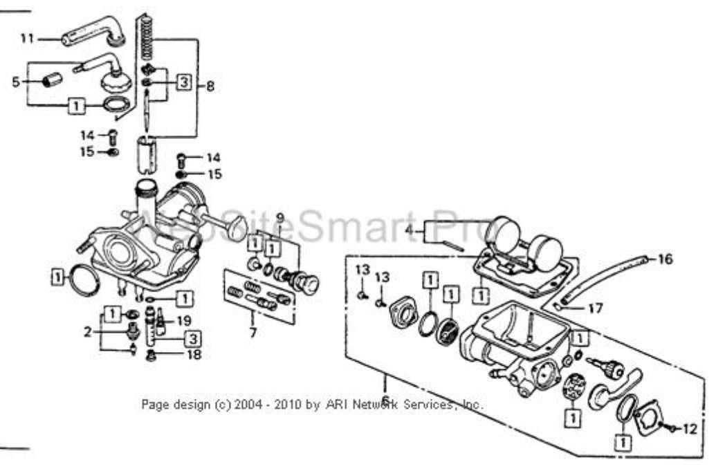 Kawasaki  Zxi Carburators