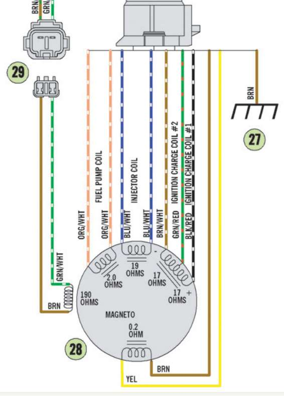 Wire on Motorcycle Ignition Wiring Diagram