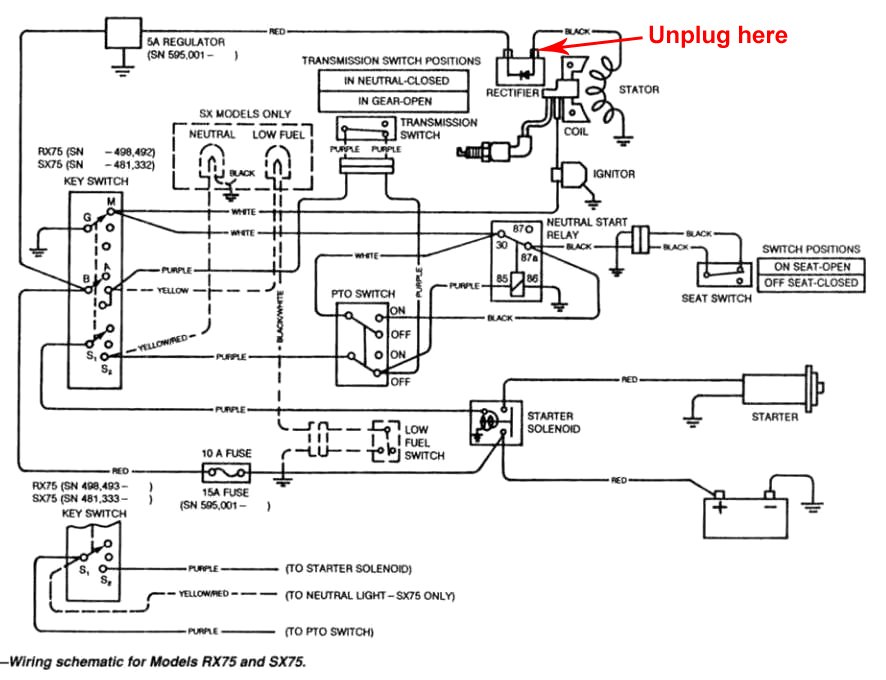 445 john deere ignition wiring diagram  445  get free