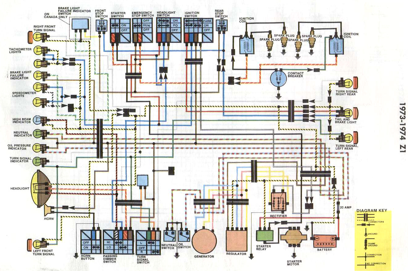 Kawasaki Wiring Diagrams besides Kawasaki KZ1000 Wiring Diagram in addition 900 Wiring Harness Images Besides Kawasaki KZ1000 Wiring Diagram together with 1975 Kawasaki Z1 900 Parts in addition Kawasaki 900 Wiring Diagram. on z1 wiring harness diagram
