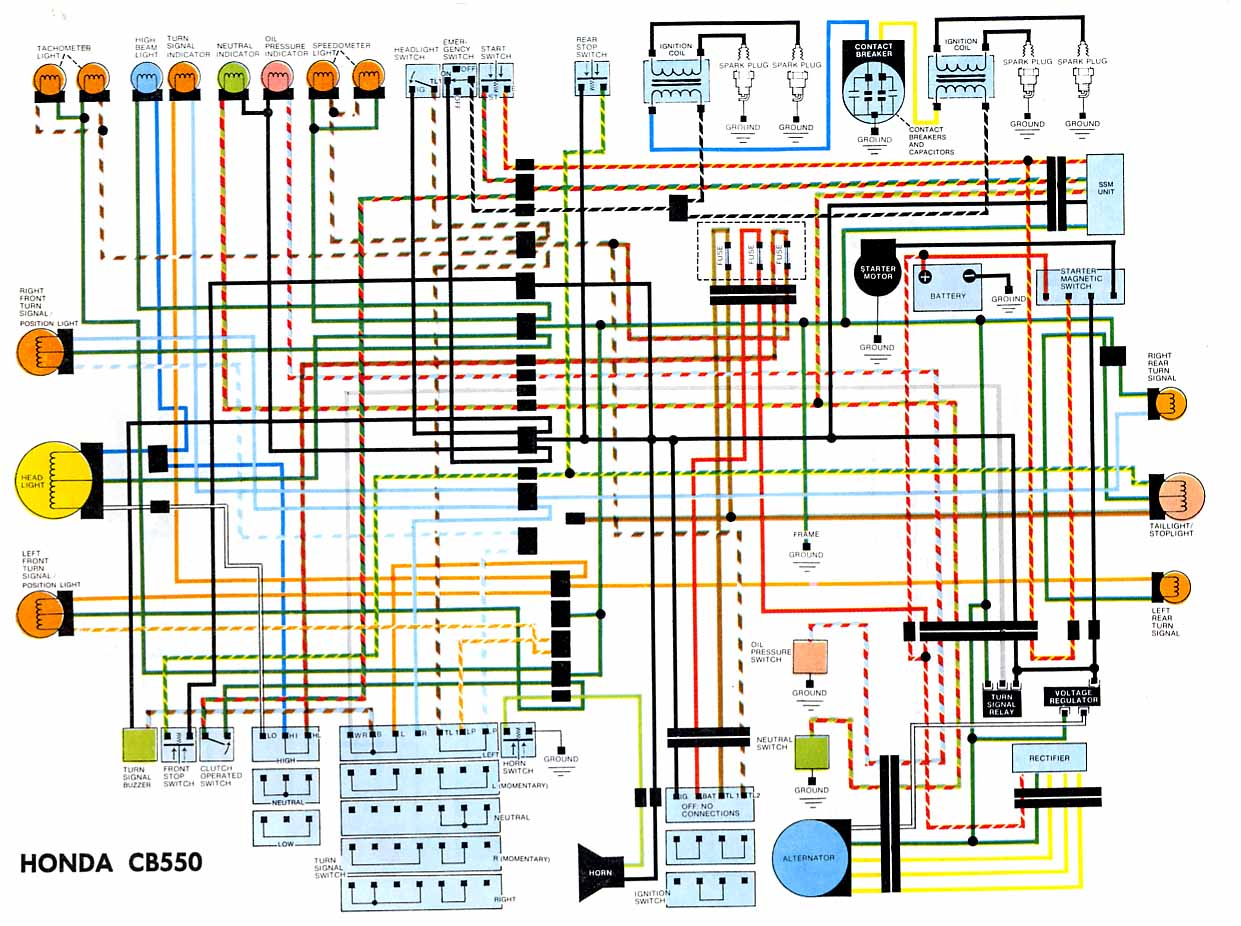 1974 cb550 wiring diagram