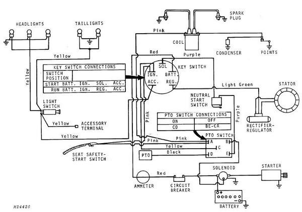 john deere 317 pto switch wiring  john  free engine image