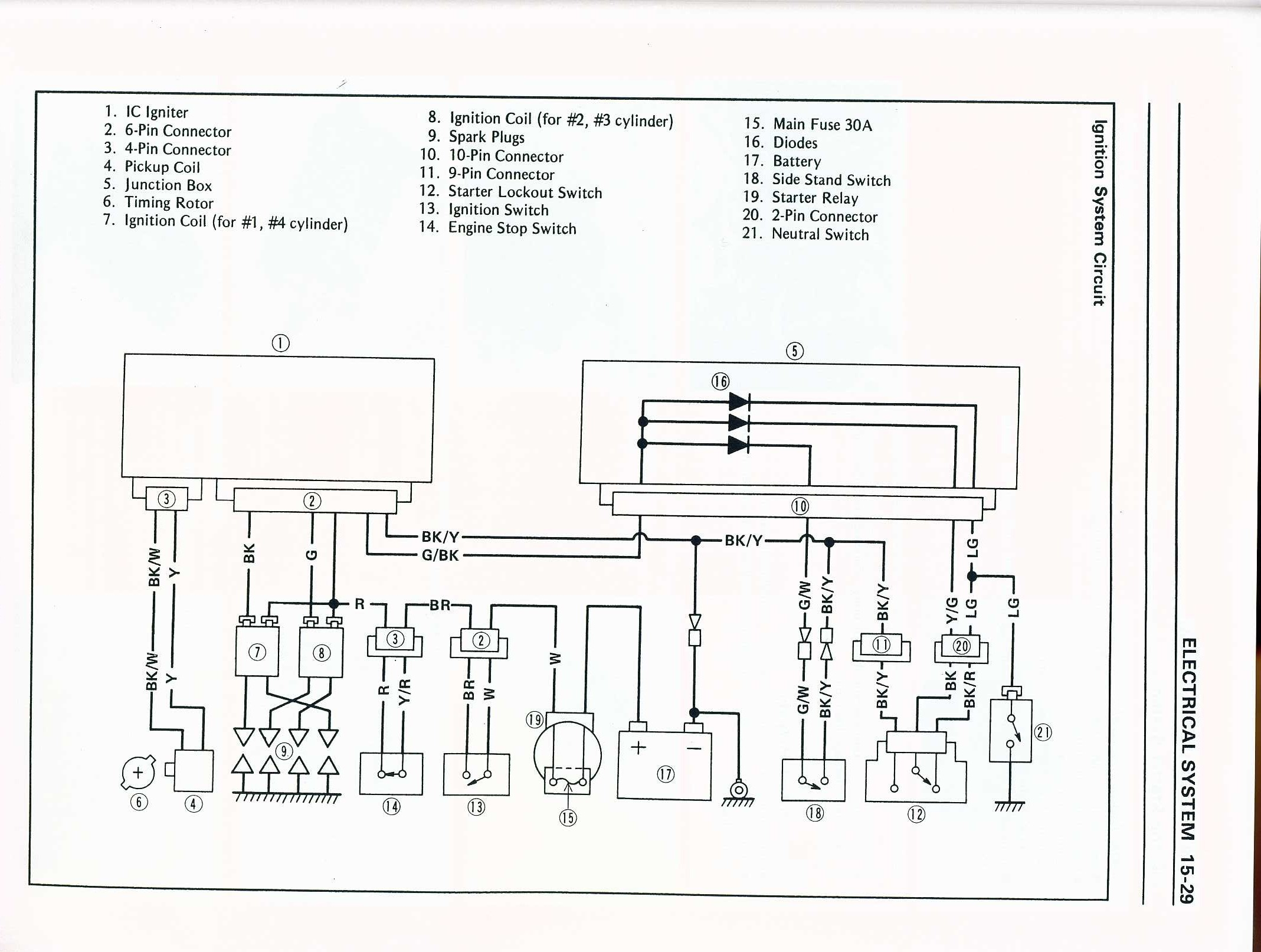 kawasaki cdi wiring diagram kawasaki free engine image for user manual kawasaki  hd3