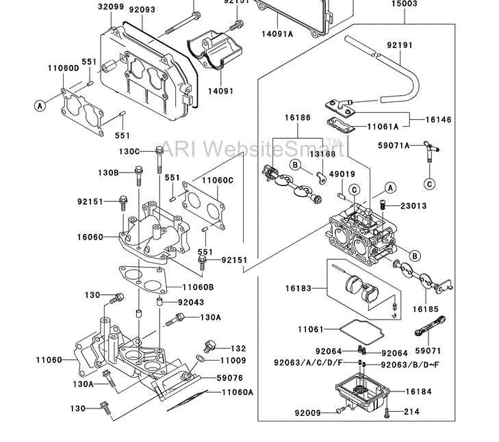 kawasaki mule engine breakdown information  kawasaki  free