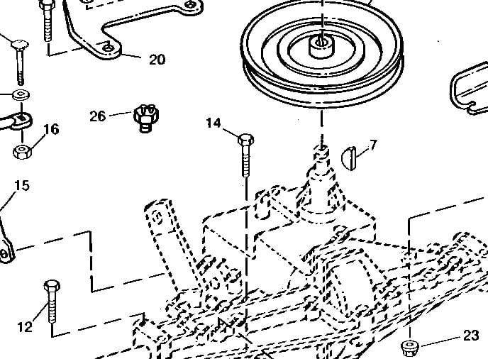 john deere sx75 parts diagram