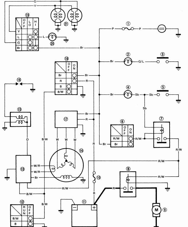 Rutpo auto repair wiring diagram jupiter z1 yfm 225 wiring diagram free download wiring diagram schematic cheapraybanclubmaster Images