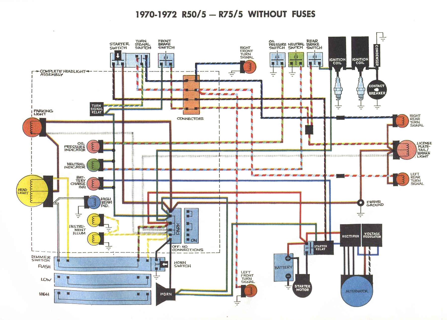R R Without Fuses on 1978 Honda Goldwing Wiring Diagram 2003