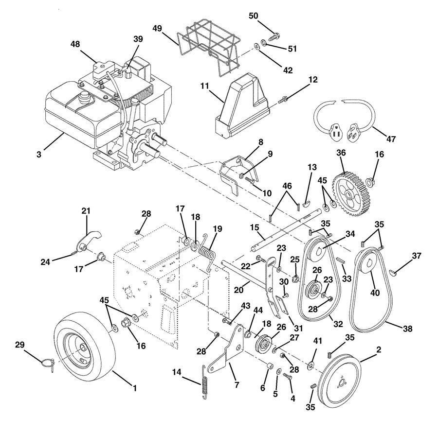 honda snowblower auger parts diagram html