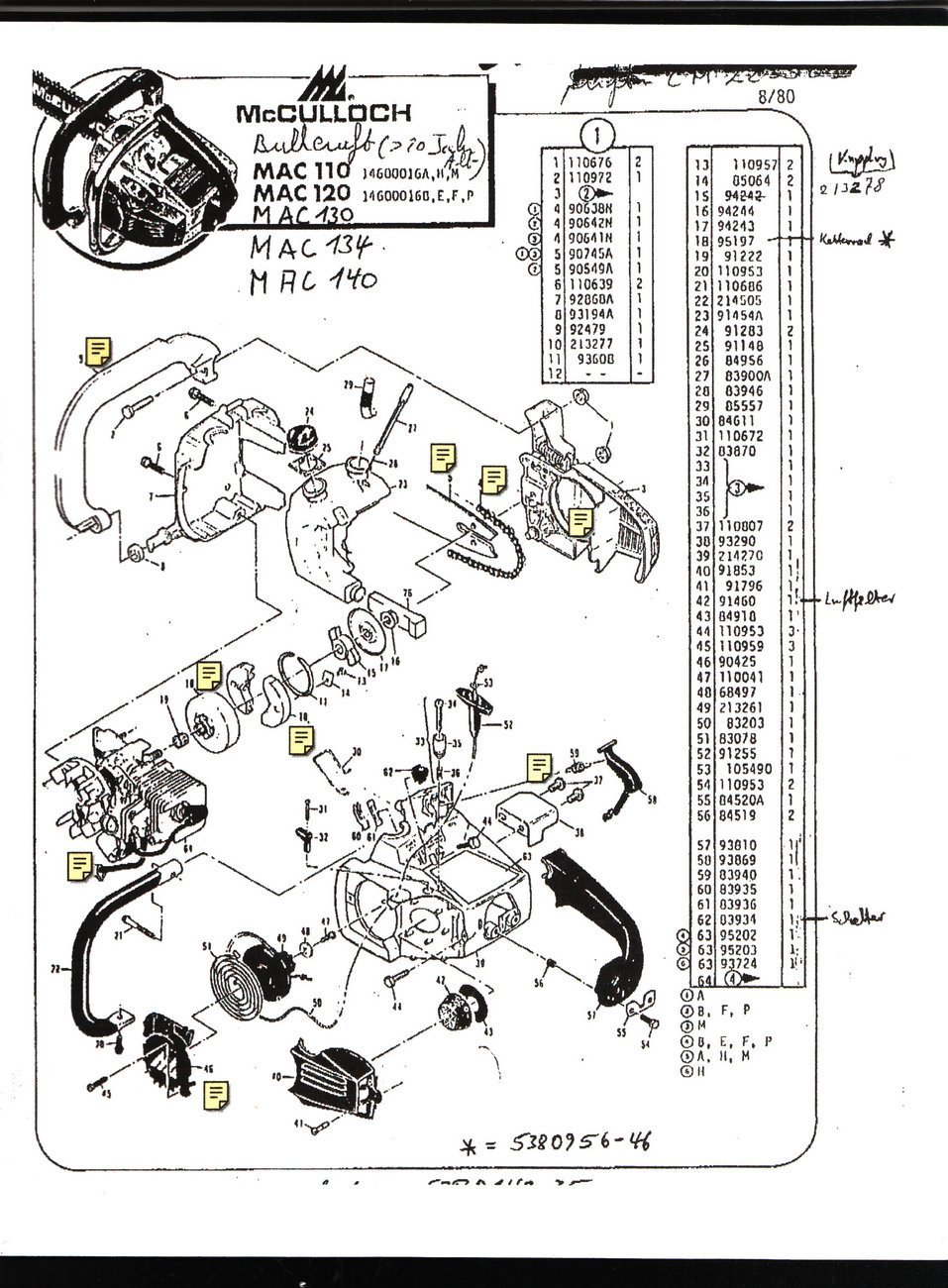 Stihl Chainsaw 011 Avt Parts Diagram - Car Parts And Wiring Diagram ...