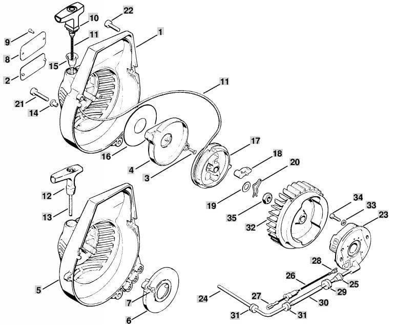 Stihl Ts 350 Parts Diagram