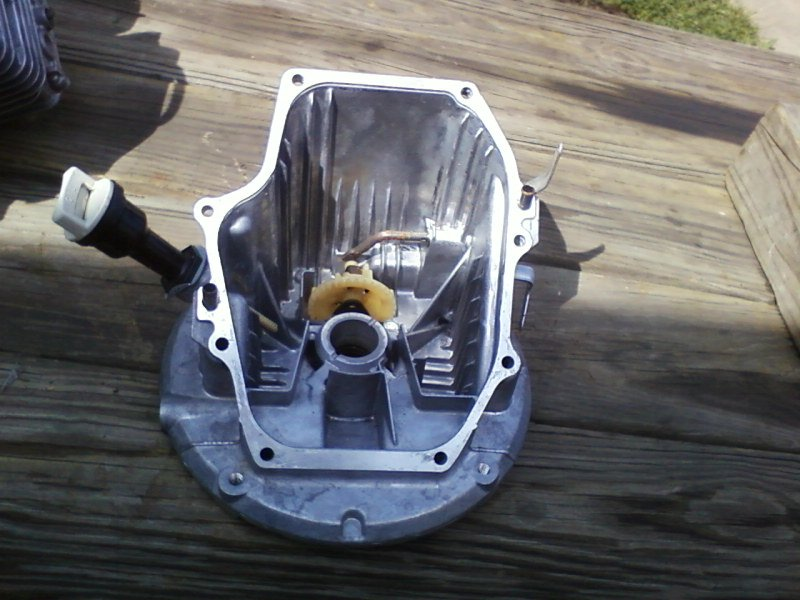 This is about a Honda lawnmower engines, model GCV190. I am trying to decide whether it makes ...