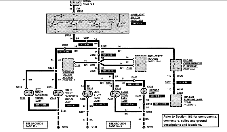 89 Ford E150 Van Wiring Diagram 89 Free Engine Image For