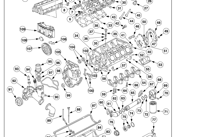 Ford 7 3 Sel Oil Pan Diagrams Ford Free Engine Image For