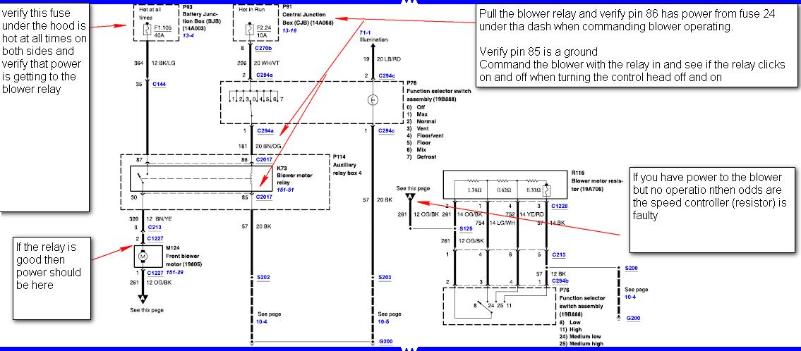 diagram of 2001 ford econoline van fuse box