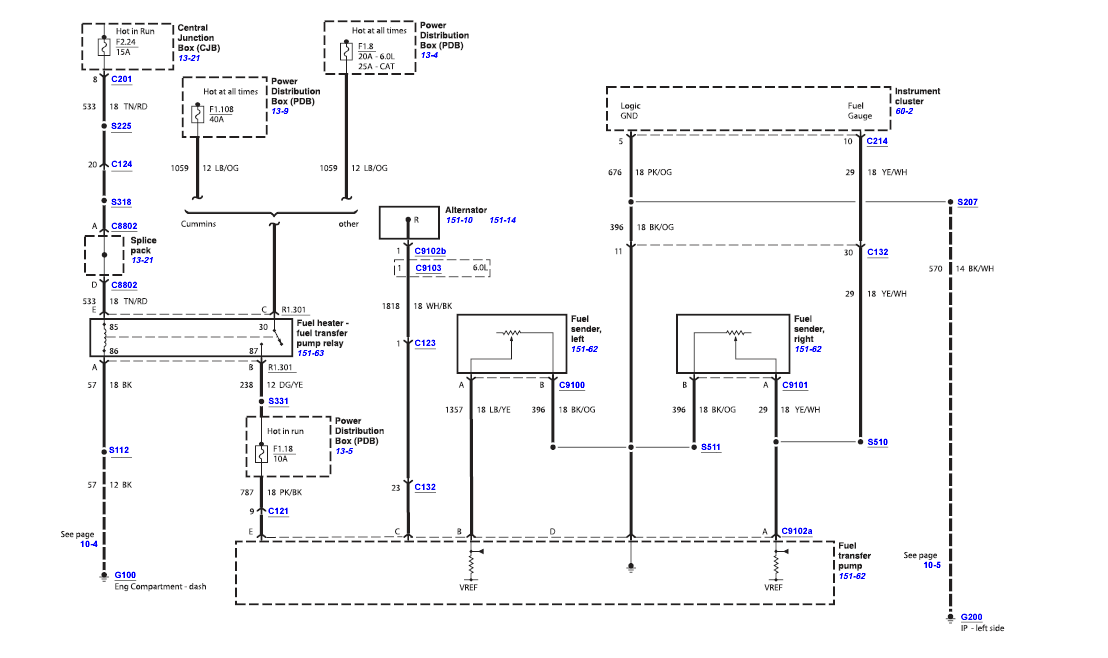 i have a 2004 f-650. fuel is not transferring from left to ... 2007 ford f650 wiring diagram 2004 ford f650 wiring diagram