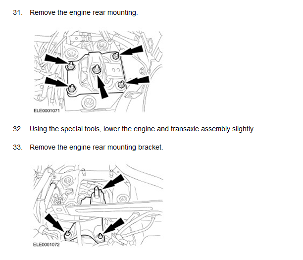 2010 ford focus engine vibration