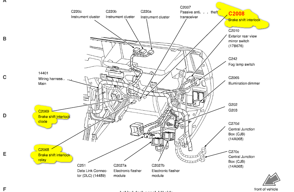 2000 Ford Focus Ignition Wiring Diagram furthermore 0xf69 Looking Location Lights Module together with 6j3tu Diagram Rear Brakes 70 Ford in addition Tail Light Fuse Location 2001 F350 likewise Schematics e. on 2002 ford f750 wiring diagram