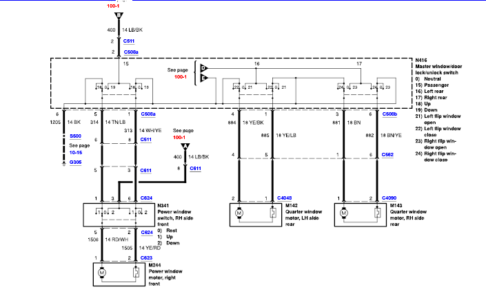 wiring window power windstar switch diagram2001ford i have a ford windstar 2002, trying to replace power ... wiring diagram power window kijang #9