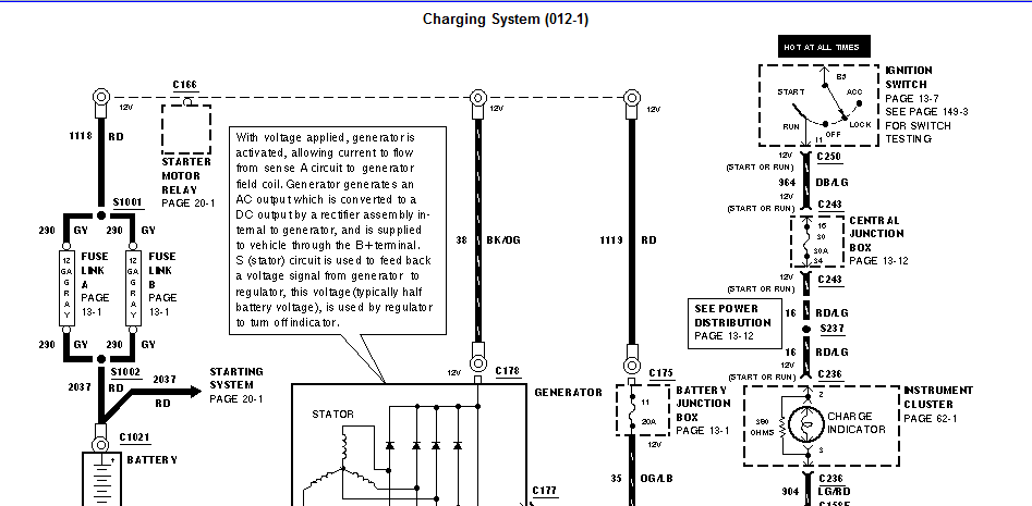 Cube  Relay  Battery  Alternator Problems  My Engine  Fuse Box