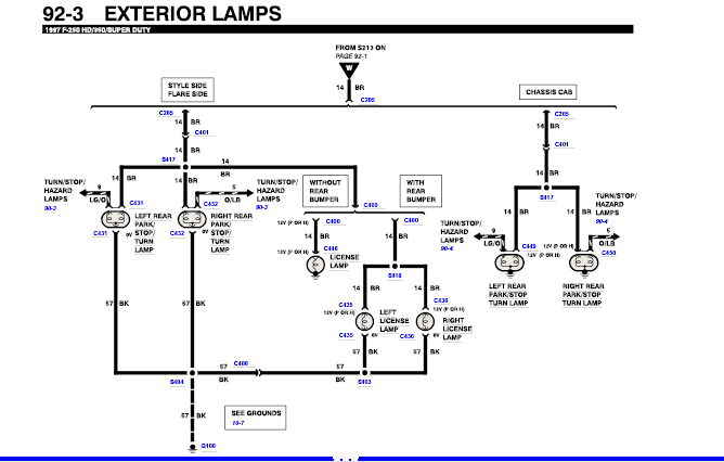 f250 tail light wiring  diagrams  wiring diagram images
