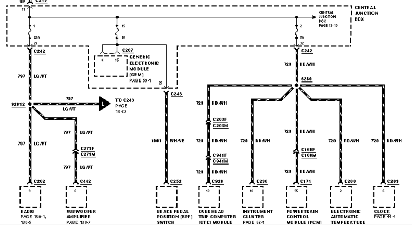 I Need A Wiring Diagram For 1999 Lincoln Navigator