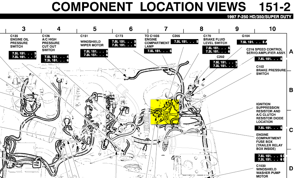 2005 Ford Explorer Sport Trac Fuse Diagram