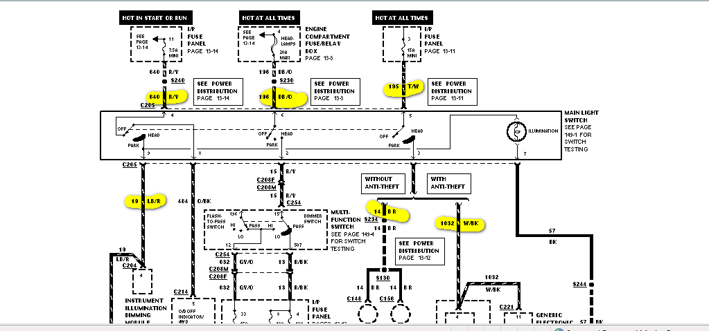 1997 ford escort wiring diagram wiring diagram and schematic design 1997 ford pickup f250 heavy duty system wiring diagram