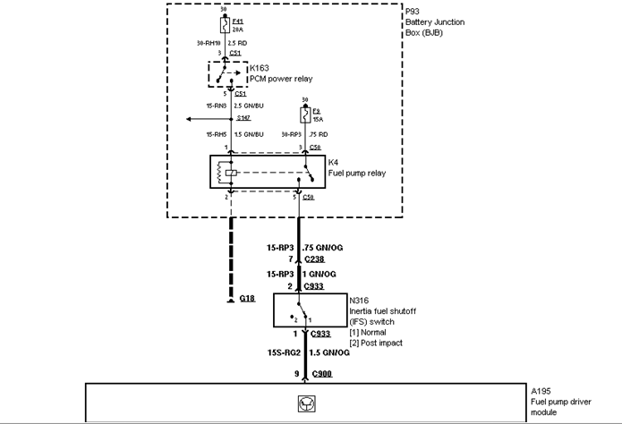 1999 kia sportage fuel pump wiring diagram i have low voltage at fuel pump on my 1999 contour 1999 ford contour fuel pump wiring diagram #13