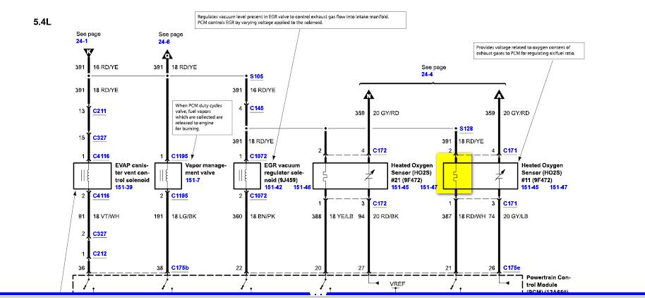 2004 lincoln navigator o2 sensor location  2004  free