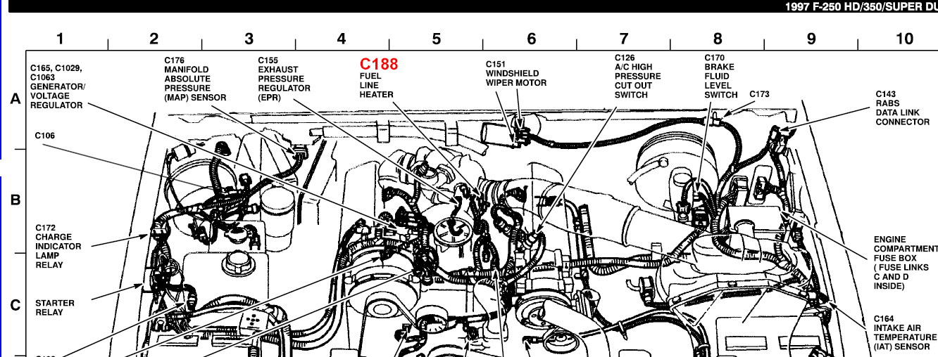 7 3l complete diagram  7  free engine image for user